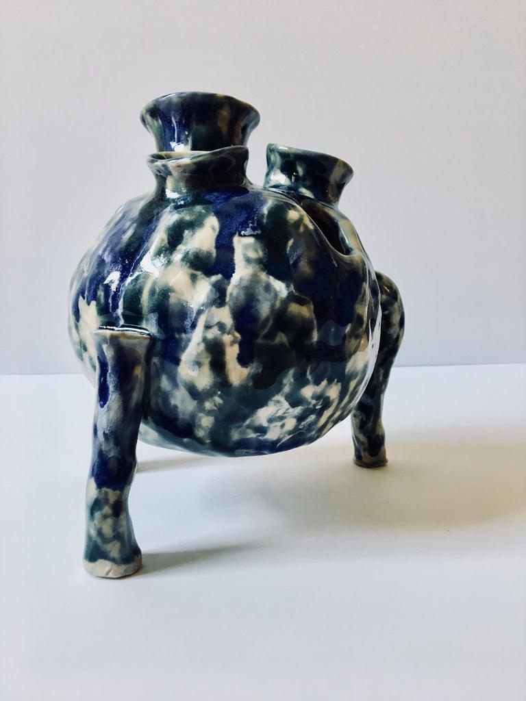 Sculpture ceramic vessel: 'Creature Medium 2' For Sale 2