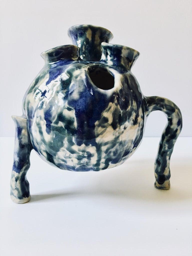 Sculpture ceramic vessel: 'Creature Medium 2' For Sale 5