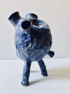 Sculpture ceramic vessel: Creature Medium No 4'