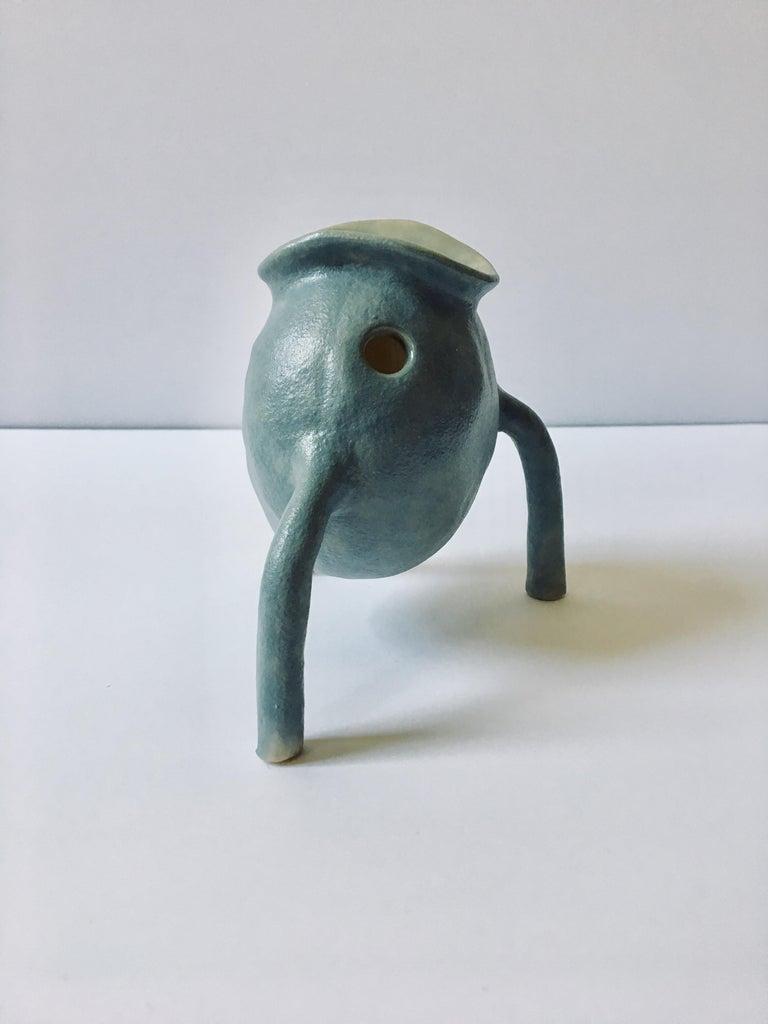 Sculpture ceramic vessels: 'Creature Small No 1-13' For Sale 3