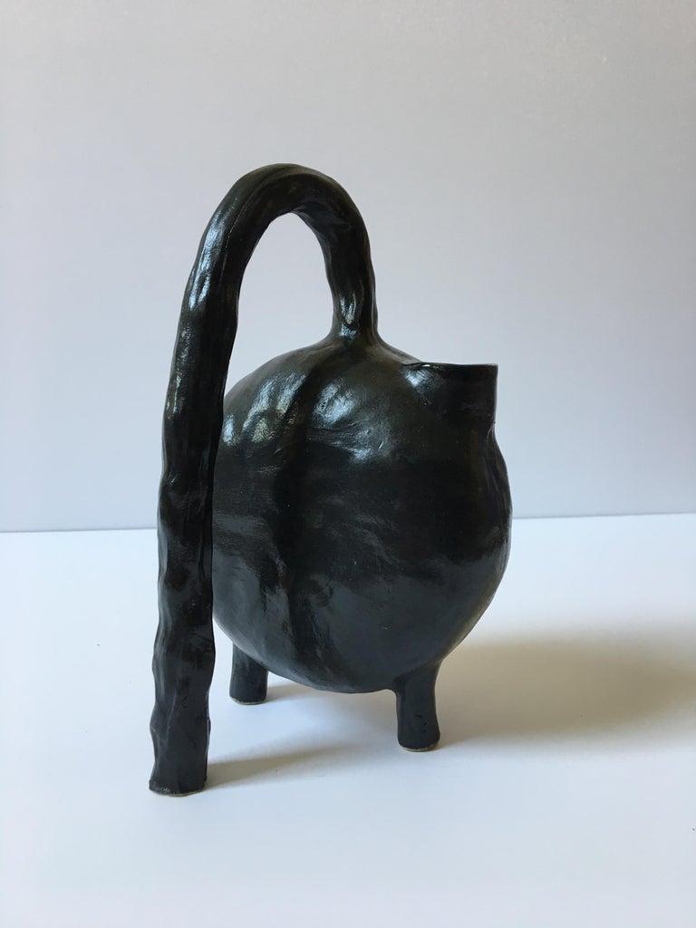 Sculpture ceramic vessels: 'Creatures No. 1, 6, 8' For Sale 8