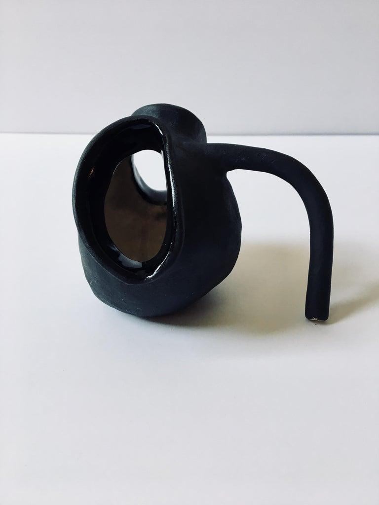 Sculpture ceramic vessels: 'Creatures No. 1, 6, 8' For Sale 14