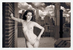 Skyline Nude Julie WTC, Photograph, Archival Ink Jet