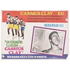 """A.K.A. Cassius Clay"" 1970 Mexican Scene Card"