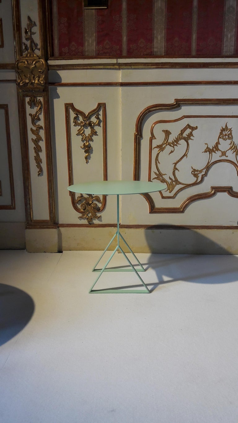 Modern Aka T Side Table, High Size For Sale