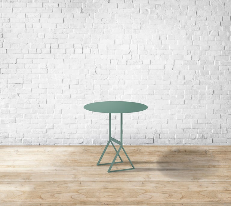 Italian Aka T Side Table, High Size For Sale