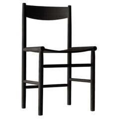 Akademia Chair in Oak Stained Black by Wesley Walters & Salla Luhtasela