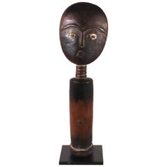 Akan Akuaba Fertility Doll Ghana Antique Traditional West African Art