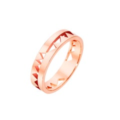 Akillis Capture Me Band Ring 18 Karat Rose Gold