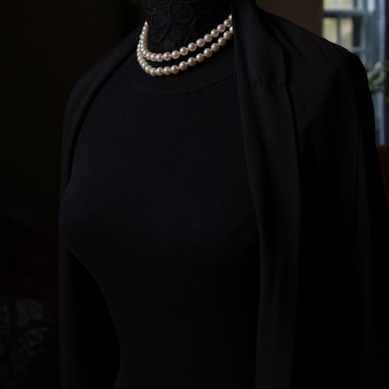 Akoya Pearl Necklace Double Strand For Sale 6