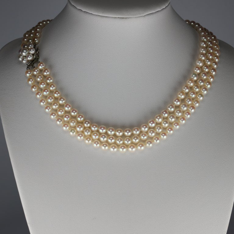 When you think of the finest cultured Japanese Akoya pearls, the name that comes to mind is almost certainly Mikimoto. But allow me to introduce you to another name: Tasaki. Founded in the mid-1950s, The Tasaki company raises its own oysters in
