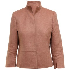 Akris Dusty Rose Cashmere Jacket
