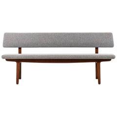 Aksel Bender Madsen & Ejnar Larsen Sofa Produced by Næstved Møbler in Denmark