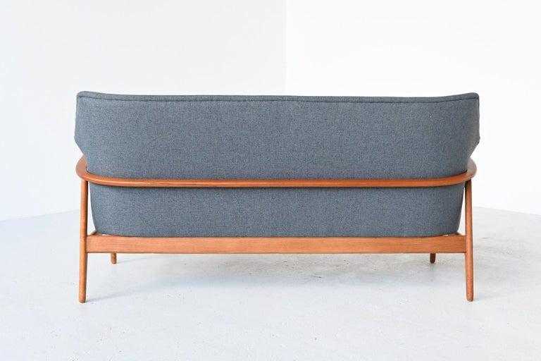 Dutch Aksel Bender Madsen Wingback lounge Sofa Bovenkamp, the Netherlands, 1960 For Sale