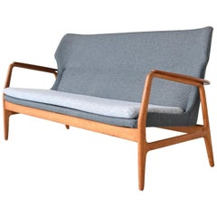 Aksel Bender Madsen Wingback lounge Sofa Bovenkamp, the Netherlands, 1960