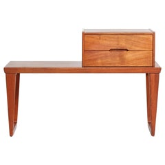 Aksel Kjersgaard Bench with Chest of Drawers in Teak Danish Modern, 1960s