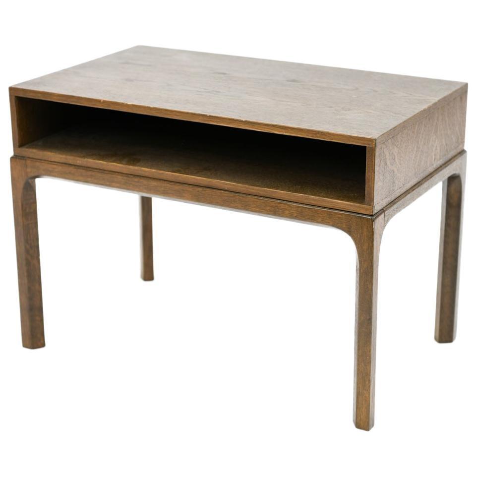 Aksel Kjersgaard for Odder Smoked Oak Model 383 Nightstand or Side Table
