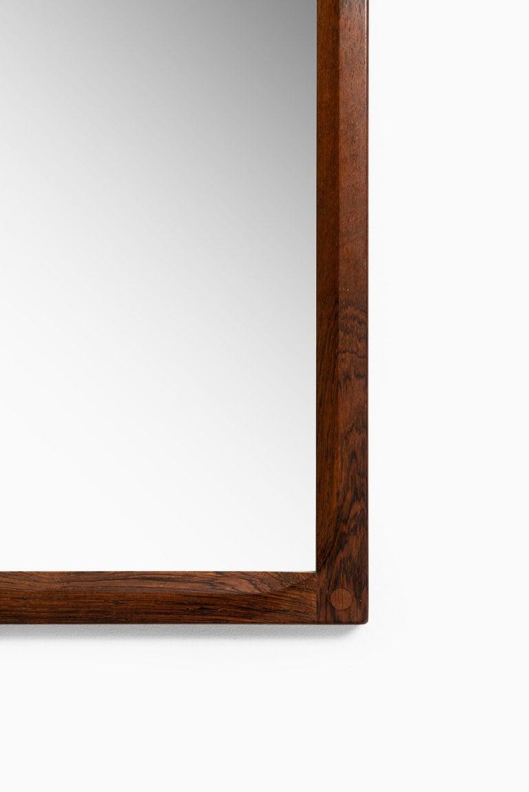 Scandinavian Modern Aksel Kjersgaard Mirror Produced by Odder in Denmark For Sale