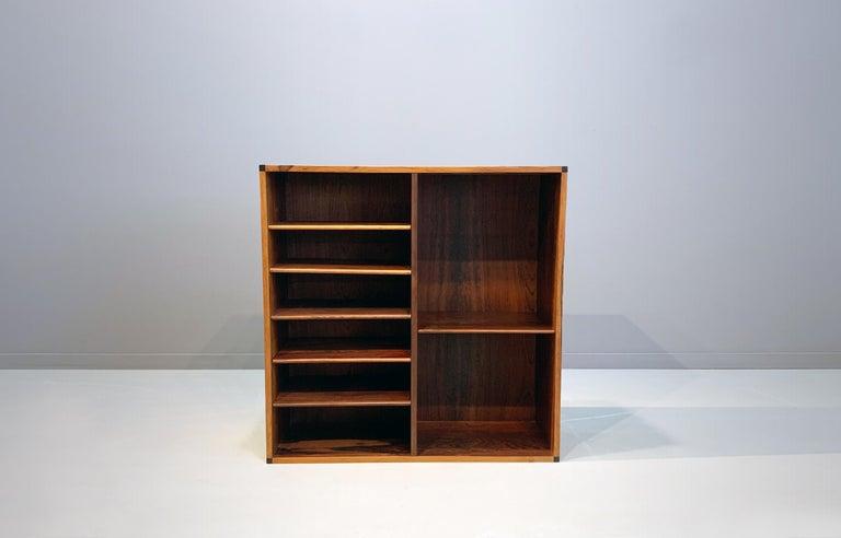Mid-Century Modern Aksel Kjersgaard Wall Cabinet Rosewood Danish Modern Midcentury For Sale