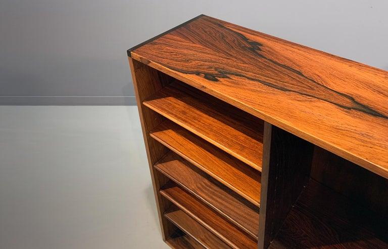 20th Century Aksel Kjersgaard Wall Cabinet Rosewood Danish Modern Midcentury For Sale