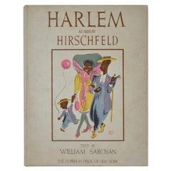 "Al Hirschfeld ""Harlem"" Rare Portfolio of 24 Limited Edition Lithographs"