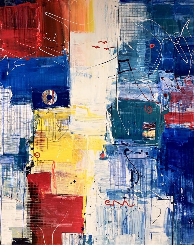 Al Razza Abstract Painting - Orbit