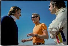 Graham Hill, Paul Newman, Luigi Chinetti, Jr