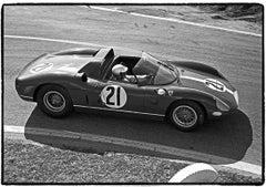 Lorenzo Bandini driving #21 Ferrari 330P, Sebring 12-Hour Race Sebring, FL