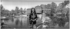 Loretta Lynn in her small town of Hurricane Mills, Tennessee
