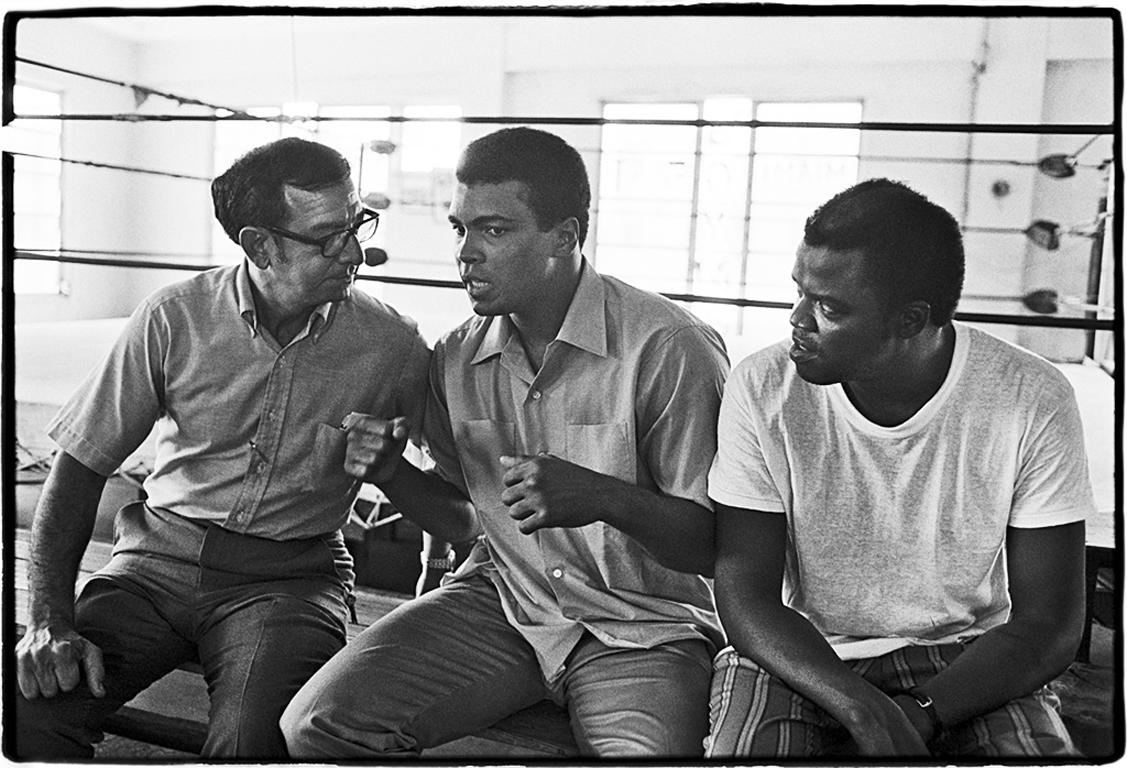 Muhammad Ali ( Angelo Dundee and Bundini Brown )