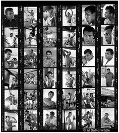 Muhammad Ali Contact Sheet