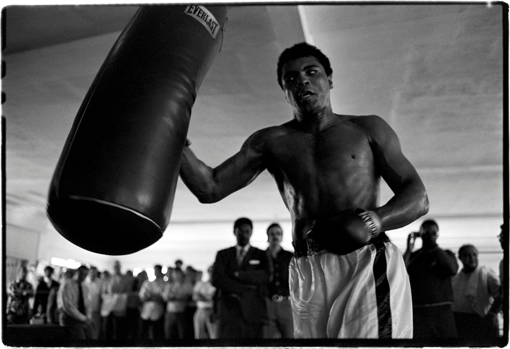 Muhammad Ali, Fifth Street Gym, Miami (Hitting the Bag)