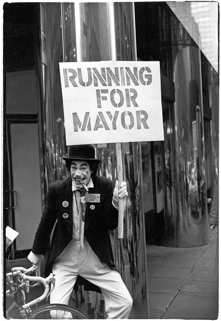 Running for Mayor