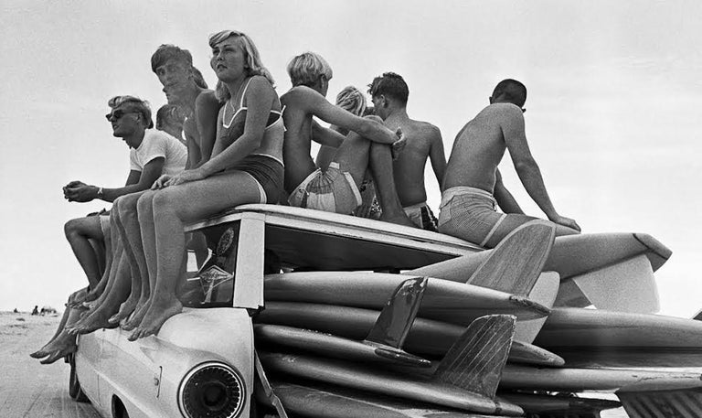 Surfers - Photograph by Al Satterwhite