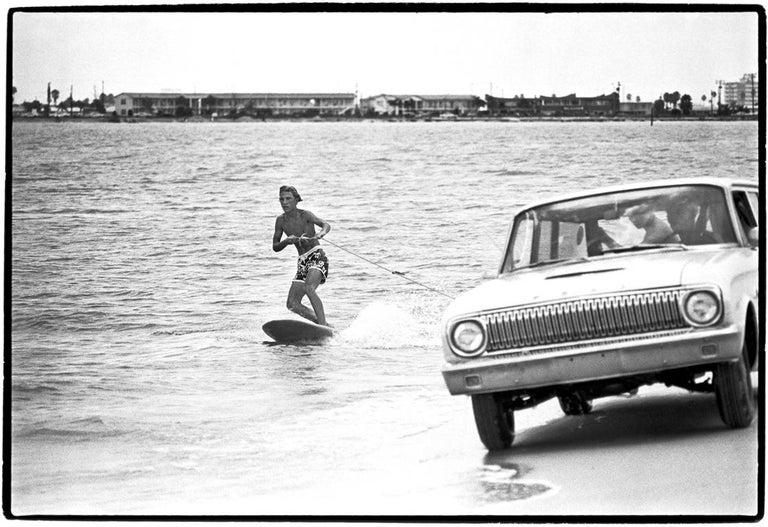 Al Satterwhite Portrait Photograph - Surfing Florida Style