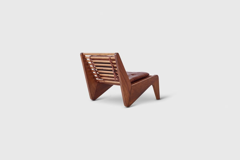 Mexican ALA Chair Mahogany, Indoor Outdoor by ATRA For Sale
