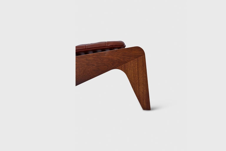 Contemporary ALA Chair Mahogany, Indoor Outdoor by ATRA For Sale
