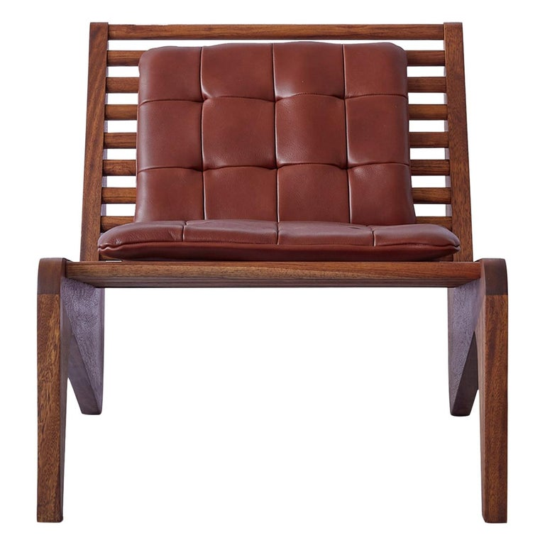 ALA Chair Mahogany, Indoor Outdoor by ATRA For Sale