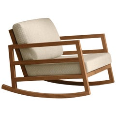 Alabama Beige Rocking Chair by Talenti