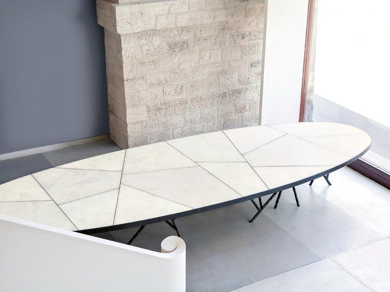 Alabaster Backlit Dining Table By Rinck Creation