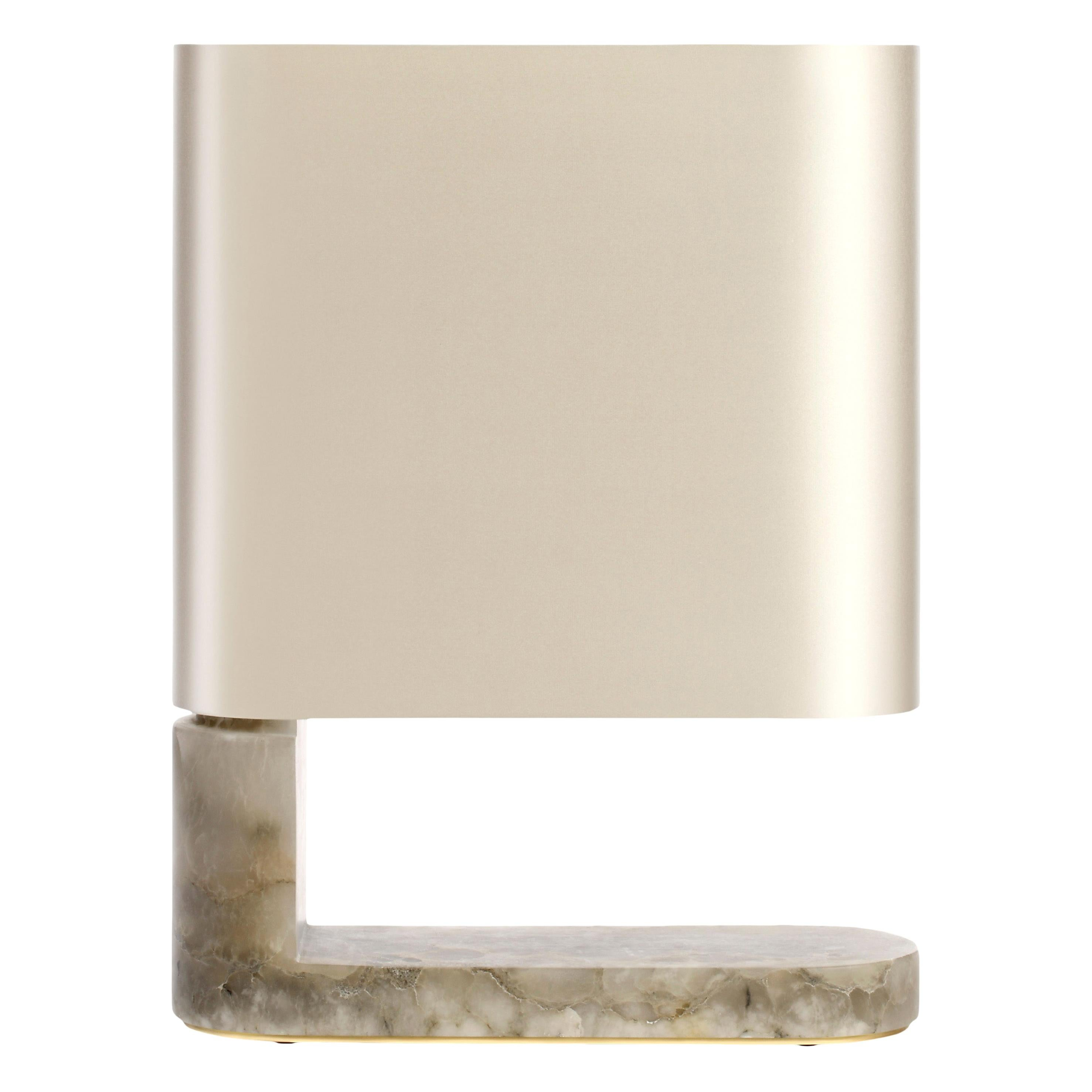 Alabaster Columbo Table Lamp by CTO Lighting