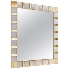 Alabaster Mirror by Studio Glustin