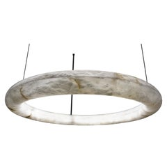 Alabaster Oslo Cable Pendant Light by Atelier Alain Ellouz