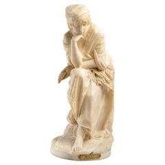 Alabaster Sculpture of Ruth