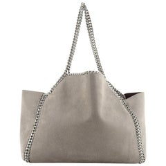 alabella Reversible Tote Shaggy Deer Small