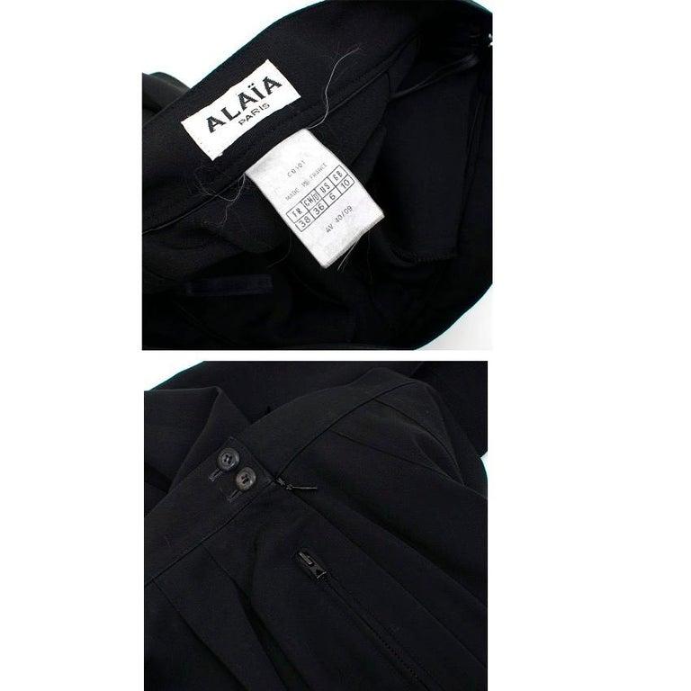 Women's Alaia Black Suit US 4 For Sale