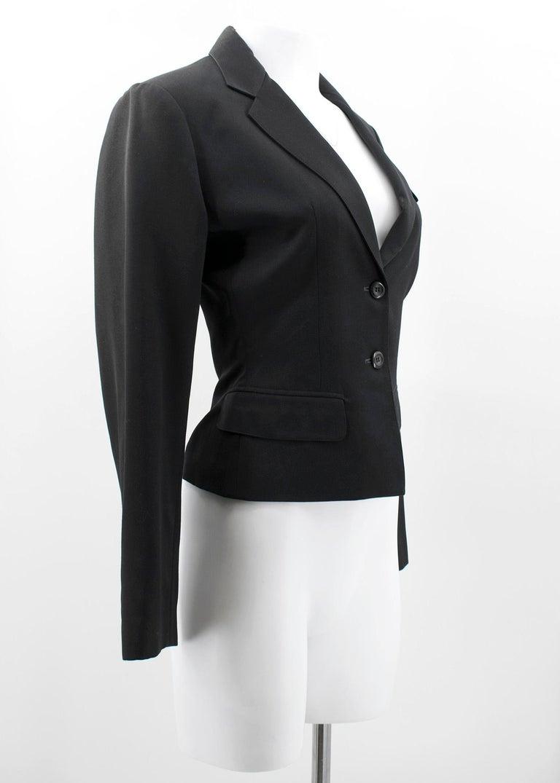 Alaia Black Suit US 4 For Sale 3