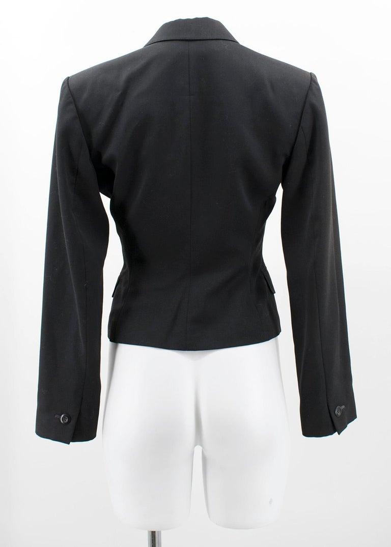 Alaia Black Suit US 4 For Sale 4