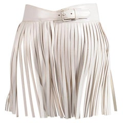 Alaïa Fringed Leather Skirt Belt, Circa 2001