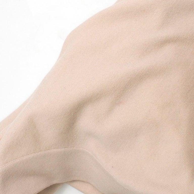 Women's Alaia Ruffle Skirt Wool blend Knit Dress XS 36R